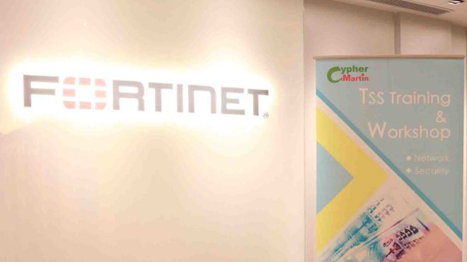 Cypher Martin x Fortinet Security Training Workshop for TSS