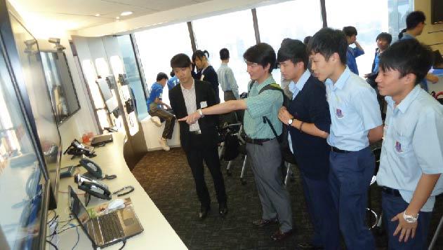 ICT student visit Cisco Systems (HK) Limited
